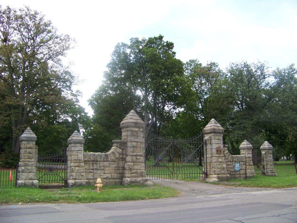 Historic Davis Street gate