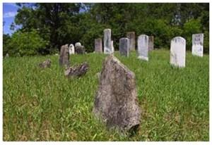 Fieldstone (front) McGuigan Cemetery, Merrickville, ON