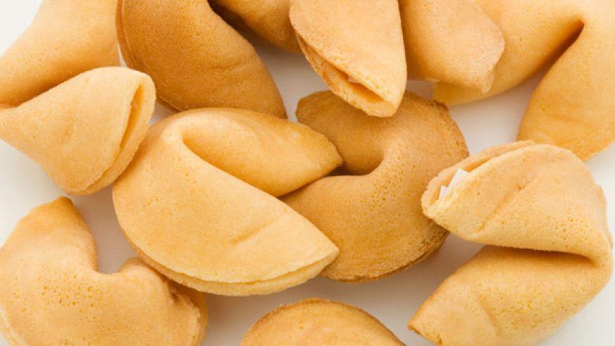 13 fortune cookies